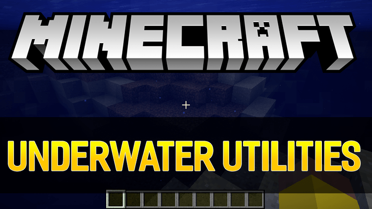 Underwater Utilities mod for minecraft logo