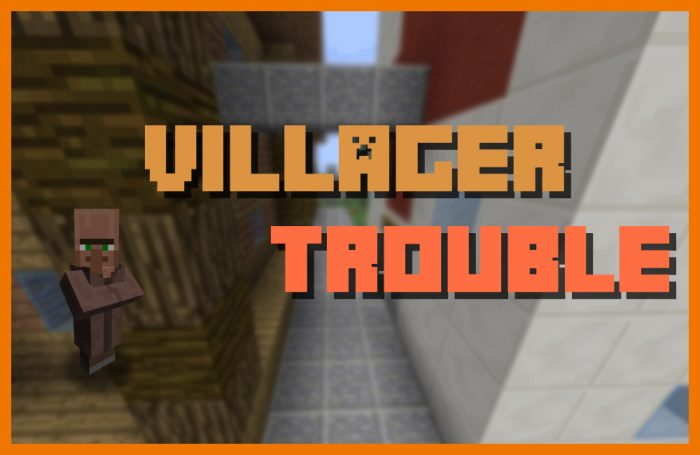 Villager Trouble Map For Minecraft - Map para minecraft 1 11 2