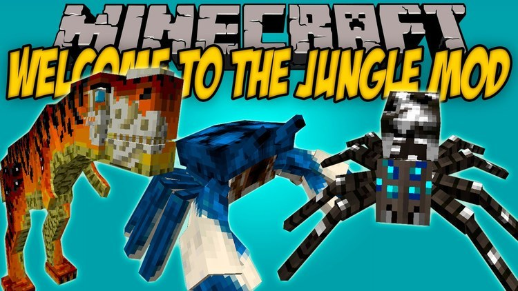 welcome-to-the-jungle-mod-1-11-21-10-2-for-minecraft Welcome to the Jungle Mod 1.11.2/1.10.2 for Minecraft