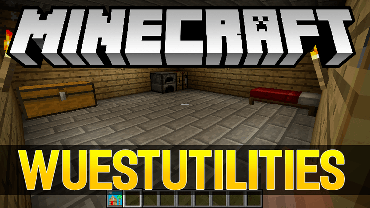 WuestUtilities mod for minecraft logo