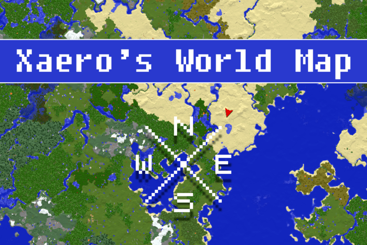 xaeros-world-map-mod-1-11-21-10-2-for-minecraft Xaero's World Map Mod 1.11.2/1.10.2 for Minecraft