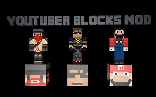 youtuber-blocks-mod-1-7-10-12101-1 Youtuber Blocks Mod 1.7.10