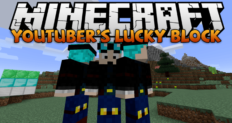 youtubers-lucky-block-mod-for-minecraft-1-11-21-10-2 Youtuber's Lucky Block Mod for Minecraft 1.11.2/1.10.2