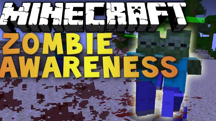zombie-awareness-mod-1-11-21-10-2-for-minecraft Zombie Awareness Mod 1.11.2/1.10.2 for Minecraft