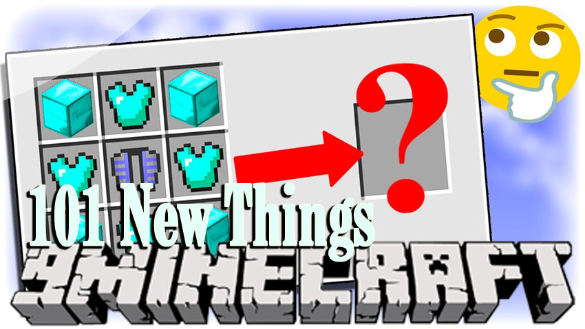 101-new-things-mod-1-11-21-10-2 101 New Things Mod 1.11.2/1.10.2