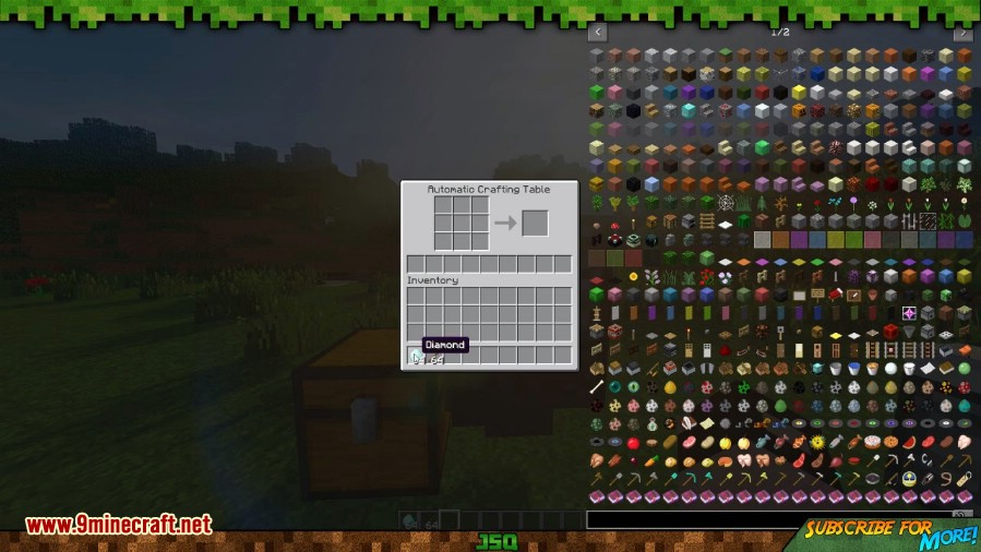 1493783027_425_automatic-crafting-table-mod-1-11-2 Automatic Crafting Table Mod 1.11.2