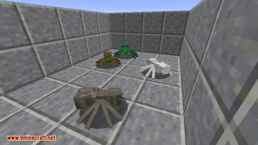 1493783079_953_much-more-spiders-reborn-mod-1-11-21-10-2 Much More Spiders Reborn Mod 1.11.2/1.10.2