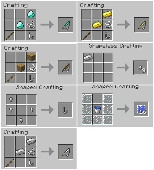 1494011240_111_just-a-few-fish-mod-1-11-21-10-2-for-minecraft Just a Few Fish Mod 1.11.2/1.10.2 for Minecraft