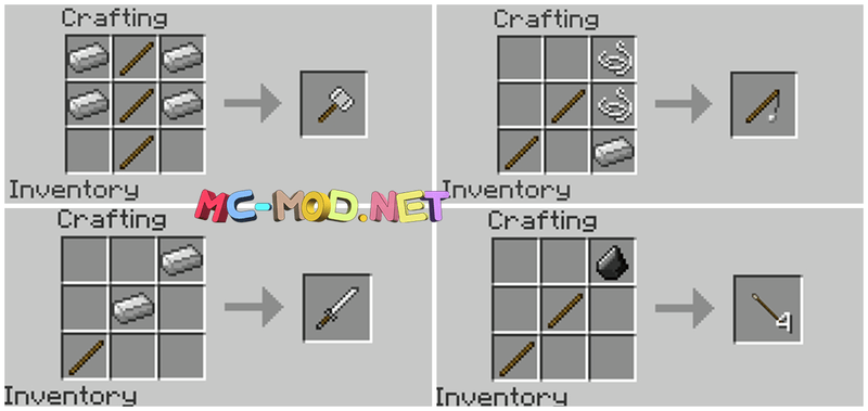 1494431057_967_balkons-weapons-mod-1-7-10-for-minecraft Balkon's Weapons Mod 1.7.10 for Minecraft