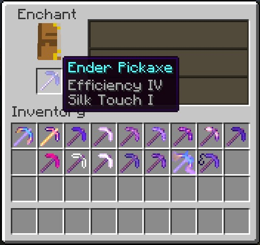 auto-draft-14607-10 More Pickaxes Mod 1.7.10