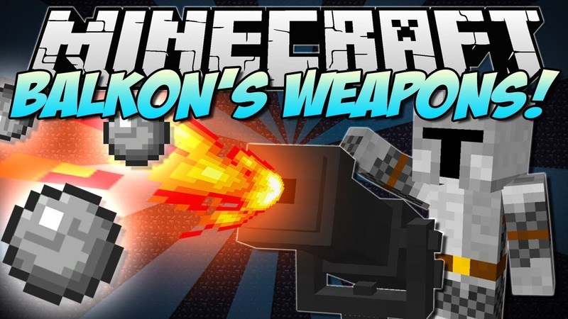 balkons-weapons-mod-1-7-10-for-minecraft Balkon's Weapons Mod 1.7.10 for Minecraft