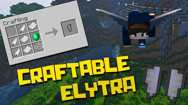 craftable-elytra-mod-1-11-21-10-2-for-minecraft Craftable Elytra Mod 1.11.2/1.10.2 for Minecraft