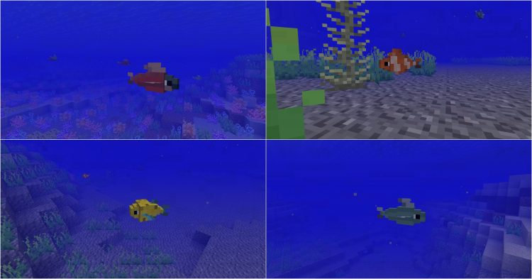 Just a Few Fish Mod 1.11.2/1.10.2 for Minecraft