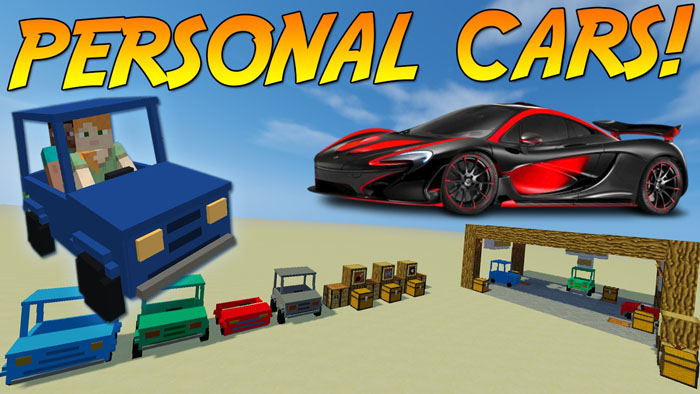 personal-cars-mod-1-11-21-10-2-just-driving-around Personal Cars Mod 1.11.2/1.10.2 (Just Driving Around)