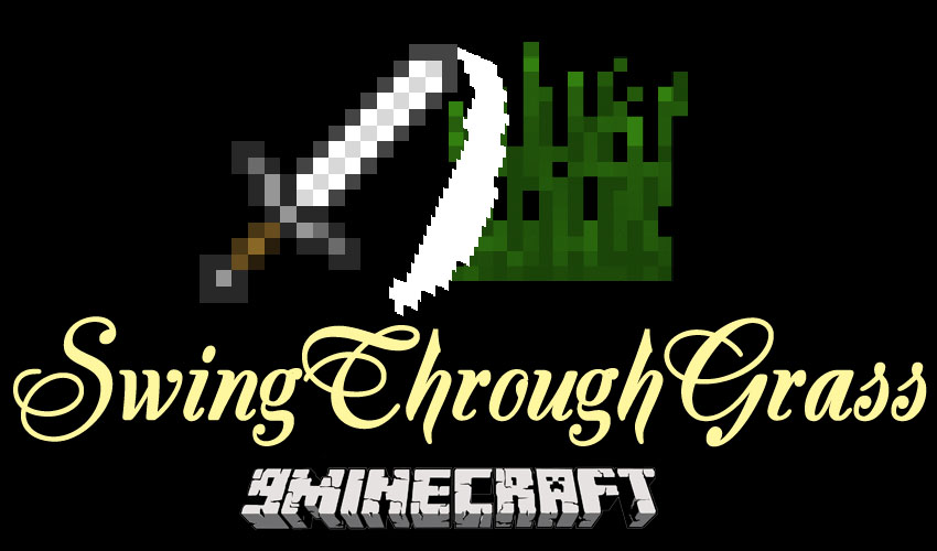 swingthroughgrass-mod-1-11-21-10-2-hit-mobs-behind-the-grass SwingThroughGrass Mod 1.11.2/1.10.2 (Hit Mobs Behind The Grass)