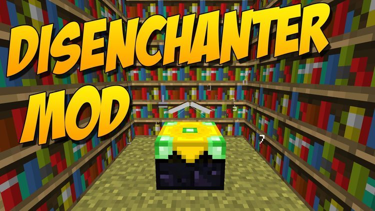 the-disenchanter-mod-1-11-21-10-2-for-minecraft The Disenchanter Mod 1.11.2/1.10.2 for Minecraft