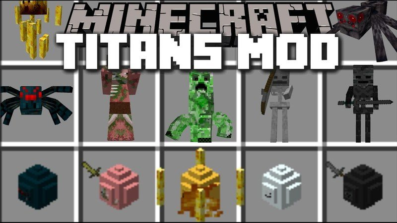 the-titans-mod-1-7-10-make-any-mob-giant The Titans Mod 1.7.10 – MAKE ANY MOB GIANT