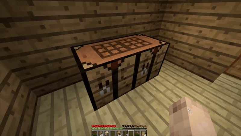 rice crafting table mod for minecraft