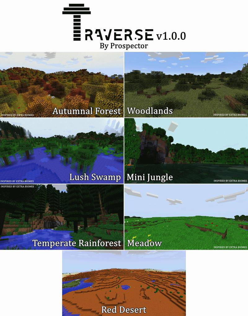 1498581928_549_traverse-mod-1-121-11-2-many-new-biomes Traverse Mod 1.12/1.11.2 (Many new biomes)