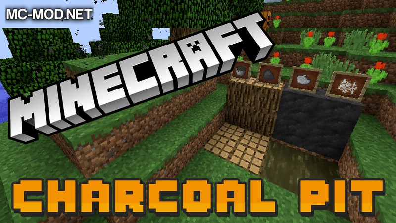 charcoal-pit-mod-1-11-21-10-2-for-minecraft Charcoal Pit Mod 1.11.2/1.10.2 for Minecraft