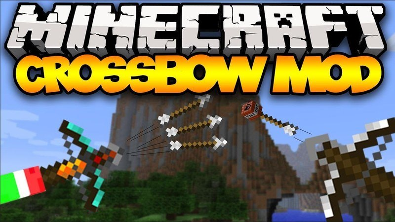 crossbows-mod-1-11-21-10-2-for-minecraft Crossbows Mod 1.11.2/1.10.2 for Minecraft