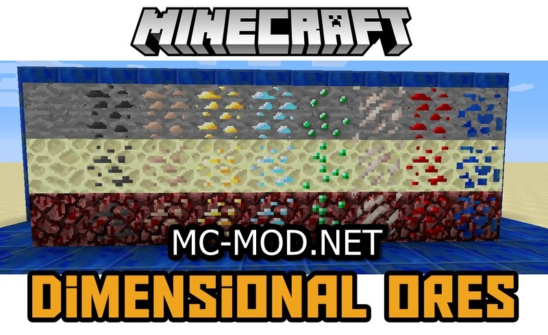dimensional-ores-mod-1-11-21-10-2-for-minecraft Dimensional Ores Mod 1.11.2/1.10.2 for Minecraft