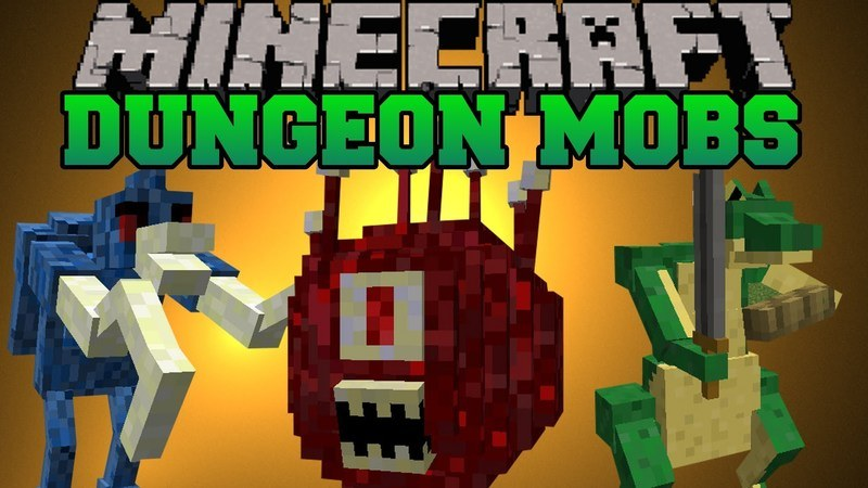 dungeon-mobs-mod-1-7-10-for-minecraft Dungeon Mobs Mod 1.7.10 for Minecraft