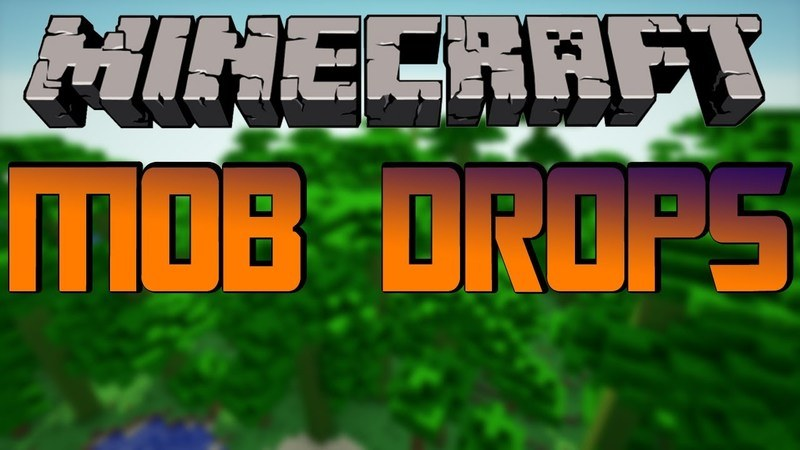 mobdrops-mod-1-11-21-10-2-for-minecraft MobDrops Mod 1.11.2/1.10.2 for Minecraft
