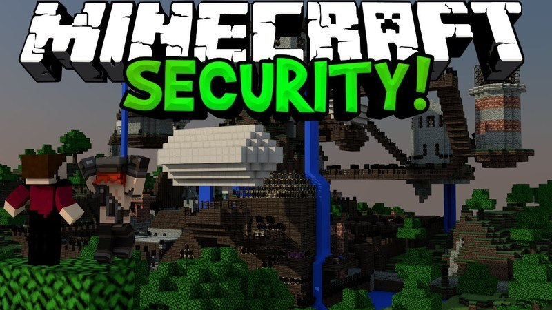 Open Security mod for minecraft logo