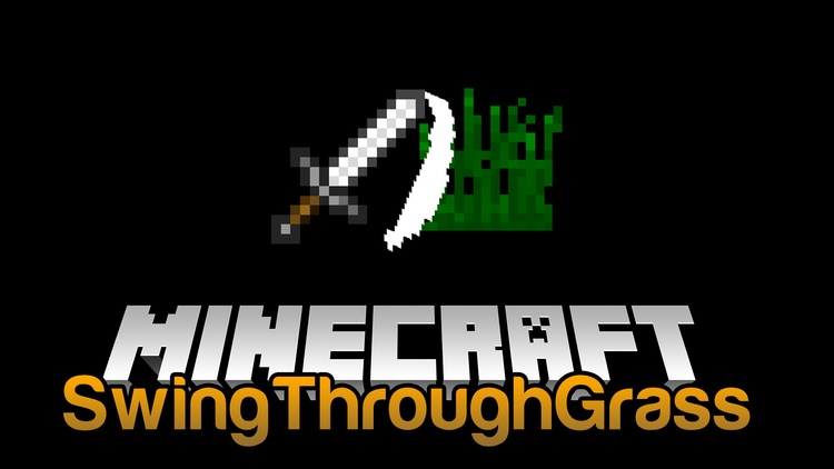 swingthroughgrass-mod-1-121-11-2-for-minecraft SwingThroughGrass Mod 1.12/1.11.2 for Minecraft