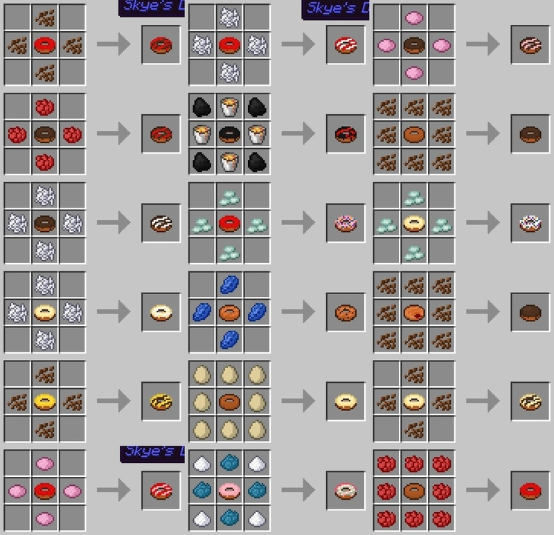 1499178023_318_skyes-donuts-mod-1-121-11-2-for-minecraft Skye's Donuts Mod 1.12/1.11.2 for Minecraft