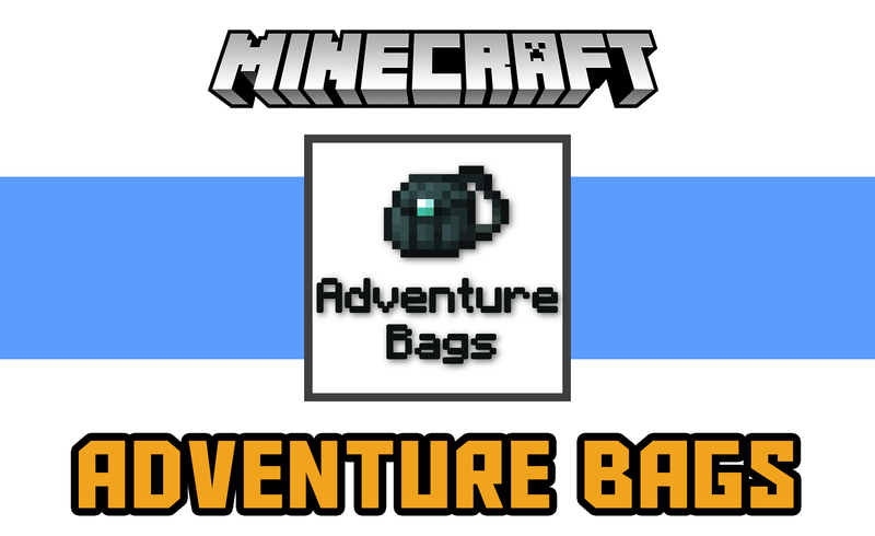 Adventure Bags Mod for Minecraft Logo