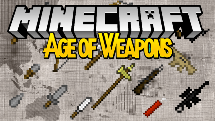 age-of-weapons-mod-1-121-11-2-for-minecraft Age of Weapons Mod 1.12/1.11.2 for Minecraft