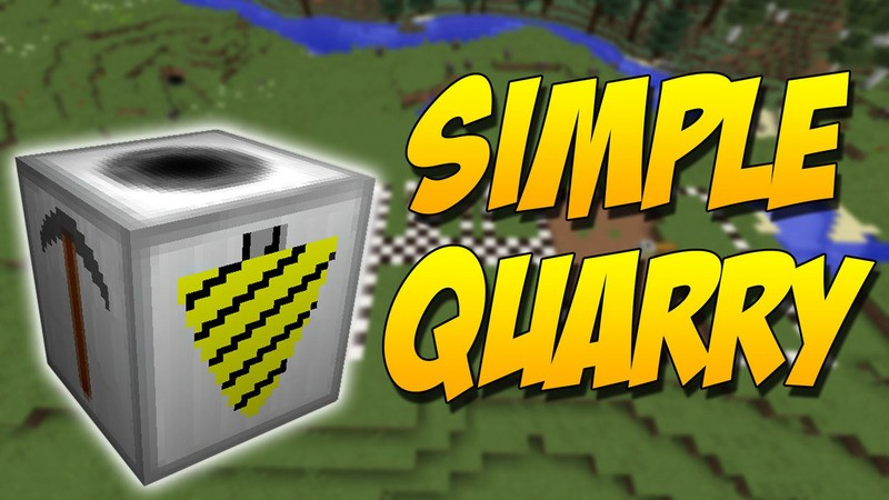 simple-quarry-mod-1-121-11-2-for-minecraft Simple Quarry Mod 1.12/1.11.2 for Minecraft