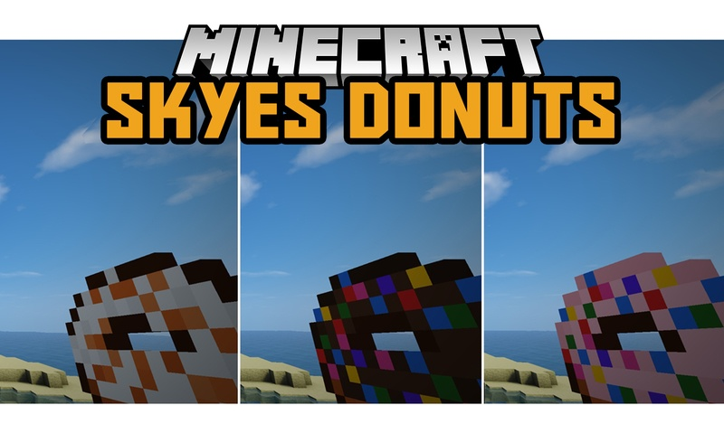 skyes-donuts-mod-1-121-11-2-for-minecraft Skye's Donuts Mod 1.12/1.11.2 for Minecraft
