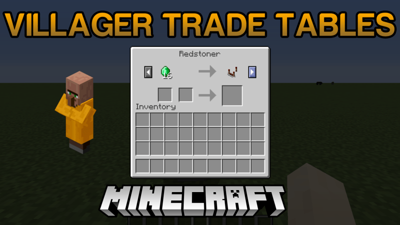 villager-trade-tables-mod-1-121-11-2-for-minecraft Villager Trade Tables Mod 1.12/1.11.2 for Minecraft