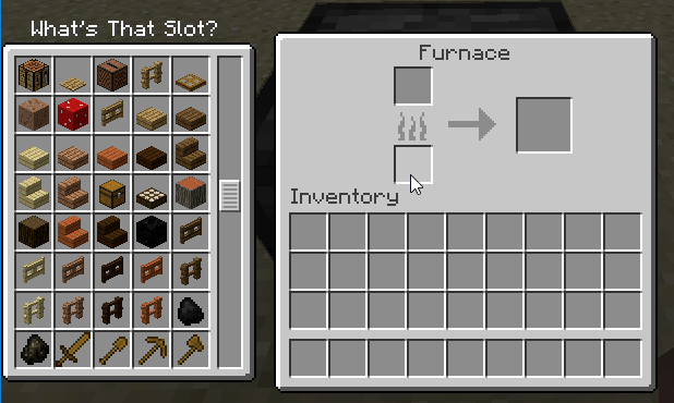 whats-that-slot-mod-1-121-11-2-for-minecraft What's That Slot Mod 1.12/1.11.2 for Minecraft