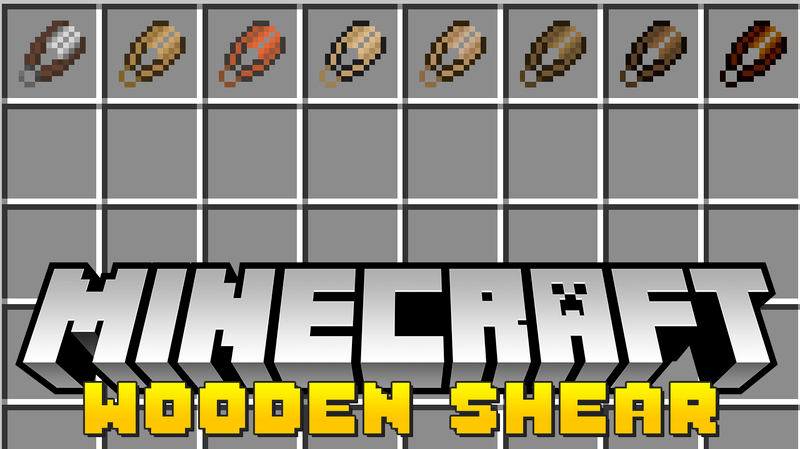 wooden-shears-mod-1-121-11-2-for-minecraft Wooden Shears Mod 1.12/1.11.2 for Minecraft