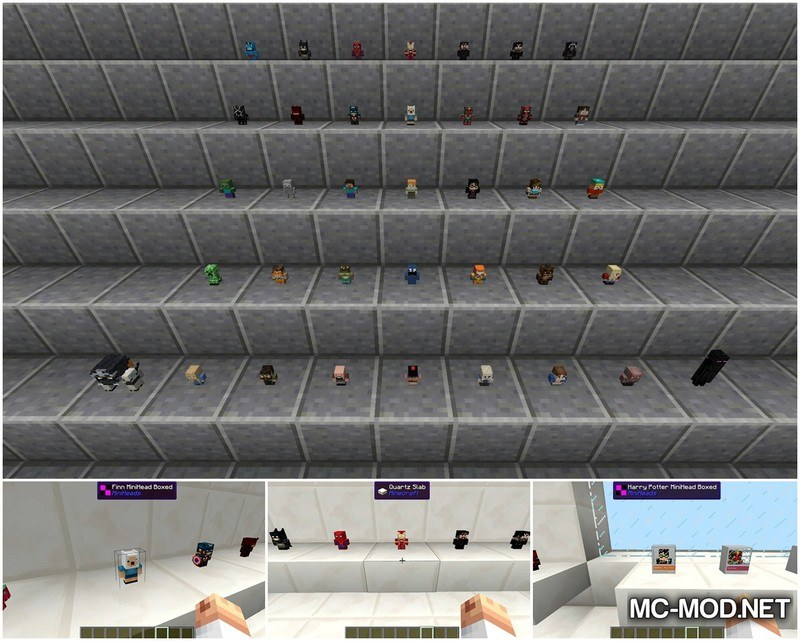 1502820376_121_miniheads-mod-1-12-11-11-2-for-minecraft MiniHeads Mod 1.12.1/1.11.2 for Minecraft