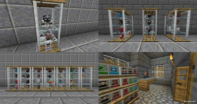 1502820377_379_miniheads-mod-1-12-11-11-2-for-minecraft MiniHeads Mod 1.12.1/1.11.2 for Minecraft