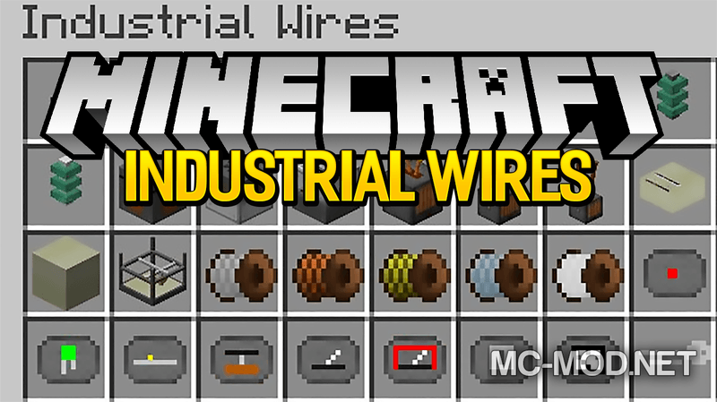 industrial-wires-mod-1-12-11-11-2-for-minecraft Industrial Wires Mod 1.12.1/1.11.2 for Minecraft