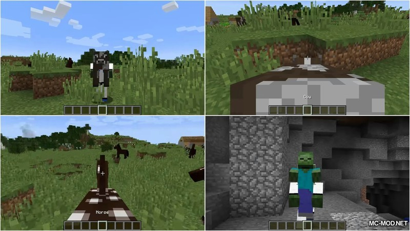 Carry On Mod for Minecraft 1