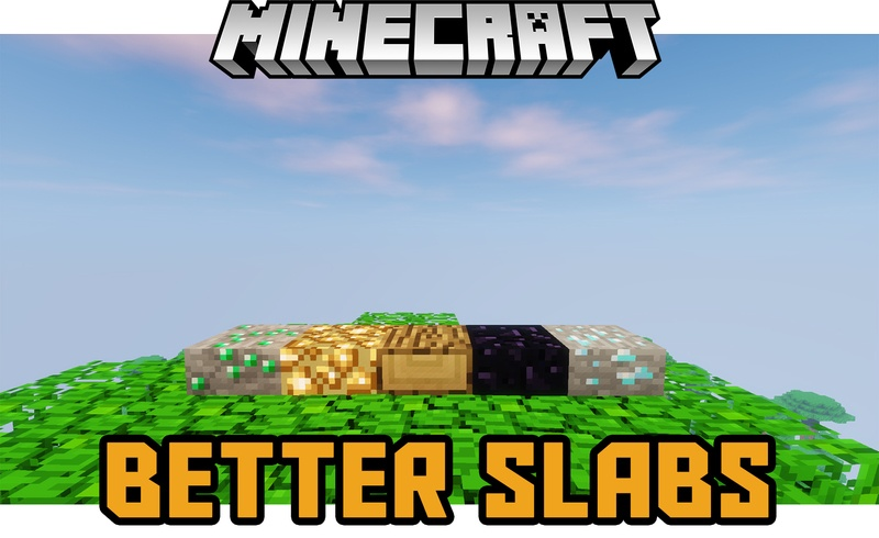 better-slabs-mod-1-12-21-11-2-for-minecraft Better Slabs Mod 1.12.2/1.11.2 for Minecraft