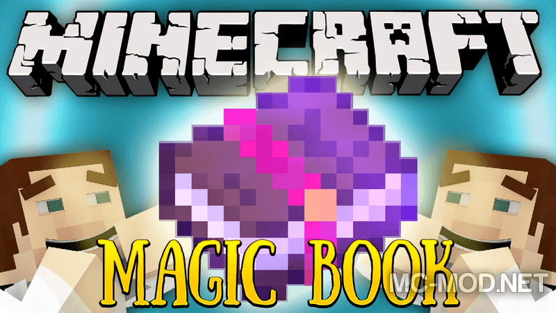 how to use magic books in minecraft