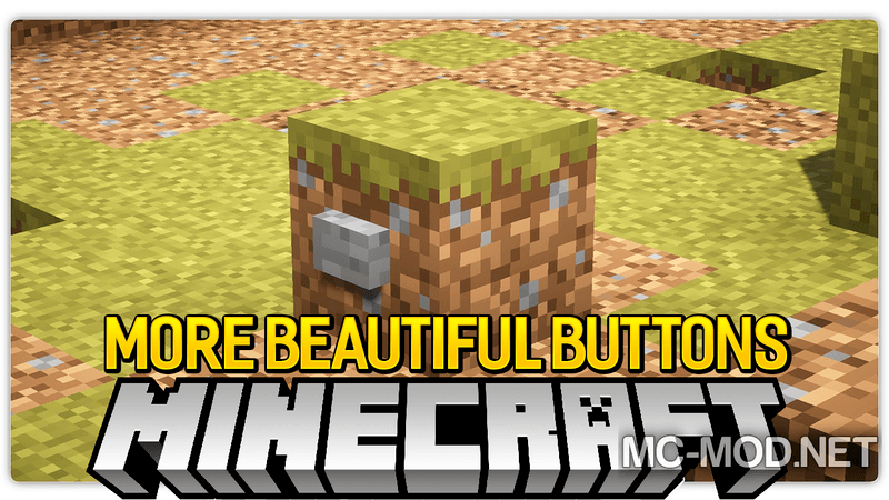 more-beautiful-buttons-mod-1-12-11-11-2-for-minecraft More Beautiful Buttons Mod 1.12.1/1.11.2 for Minecraft