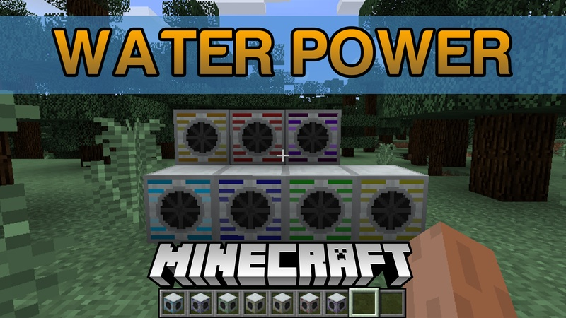 water-power-mod-1-12-11-11-2-for-minecraft Water Power Mod 1.12.1/1.11.2 for Minecraft