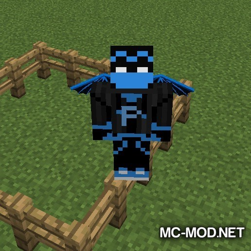 Fence Jumper Mod for Minecraft 4