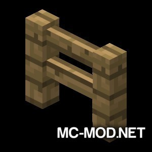Fence Jumper Mod for Minecraft 1
