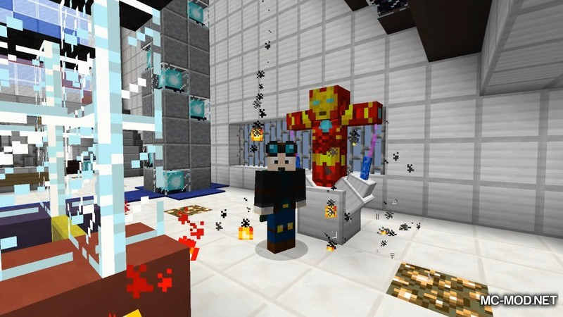 IronMan Mod for Minecraft 6