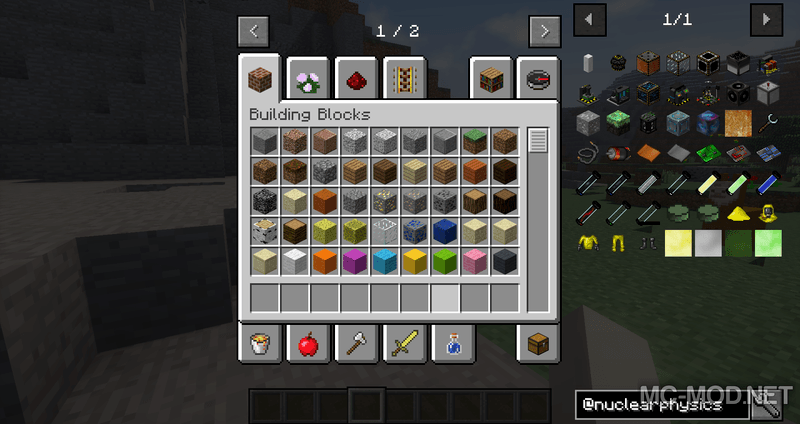 1509263699_57_nuclear-physics-mod-1-12-21-11-2-for-minecraft Nuclear Physics Mod 1.12.2/1.11.2 for Minecraft
